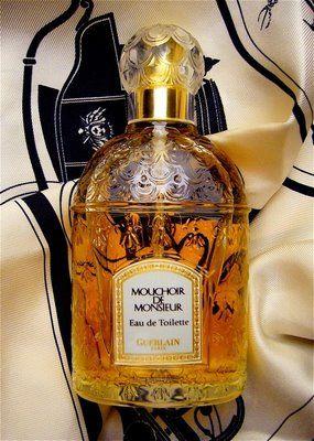 Mouchoir de Monsieur - Guerlain.  A mythic retro chic fragrance created in 1904.
