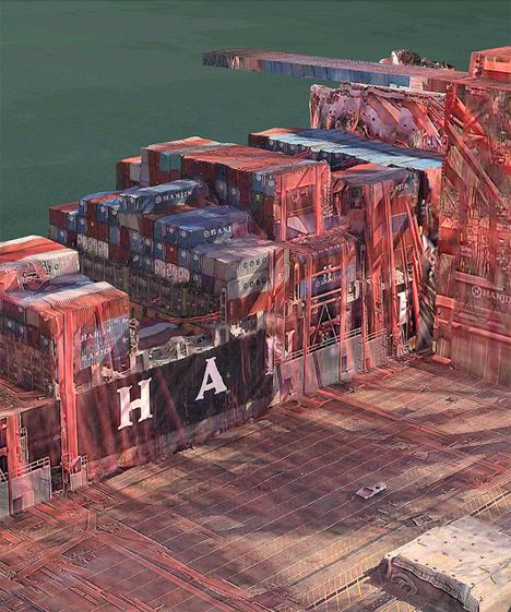Apple Maps Glitch Art won't take you anywhere, but you will get exciting scenery.