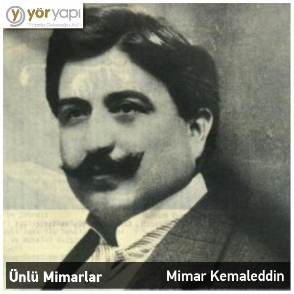 #ÜnlüMimarlar | Tarihimizdeki önemli mimarlarımızdan birisi de 1870 yılında doğmuş Mimar Kemaleddin'dir. Sayısız eserinin yanı sıra TCDD Genel Müdürlüğü binasını tasarlamıştır.