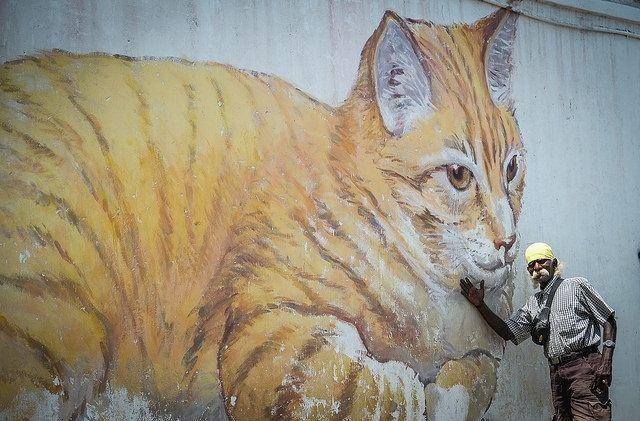 Penang Street Art by Nancie (Ladyexpat), via Flickr