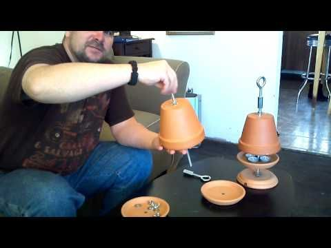 Flower Pot Heater Youtube Ideas For The House