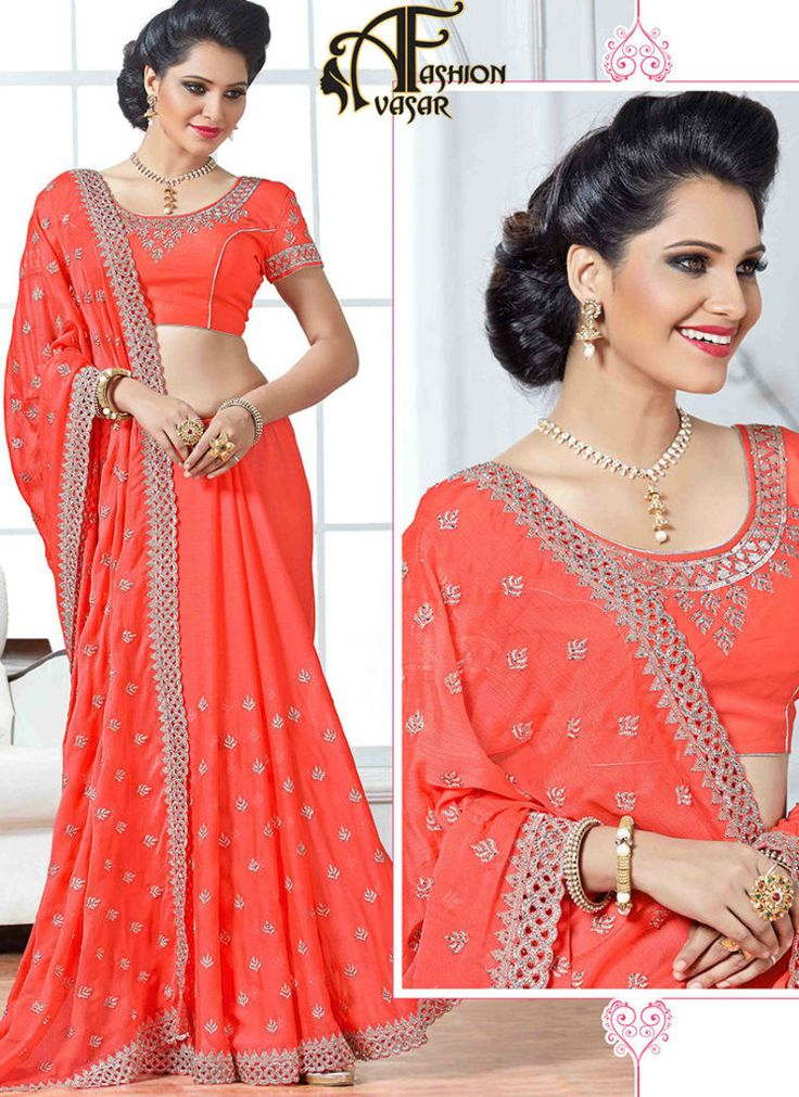 Chiffon Sarees Shopping – Buy Chiffon Sarees Online in India