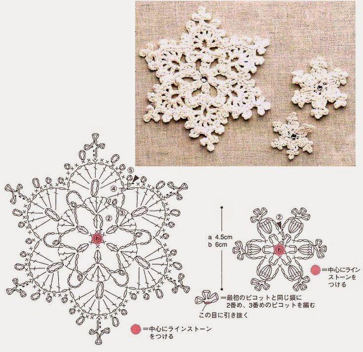 snowflakes-crochet-pattern-diagram.jpg (736×714)