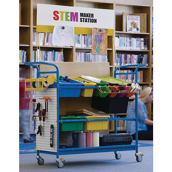 This might be the perfect mobile Makerspace - Demco.com -  Copernicus STEM Maker Stations