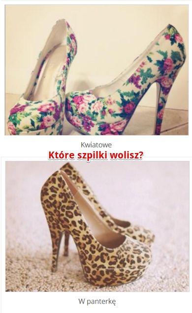 Które szpilki ładniejsze? http://www.ubieranki.eu/quizy/co-wolisz/662/ktore-szpilki-ladniejsze_.html