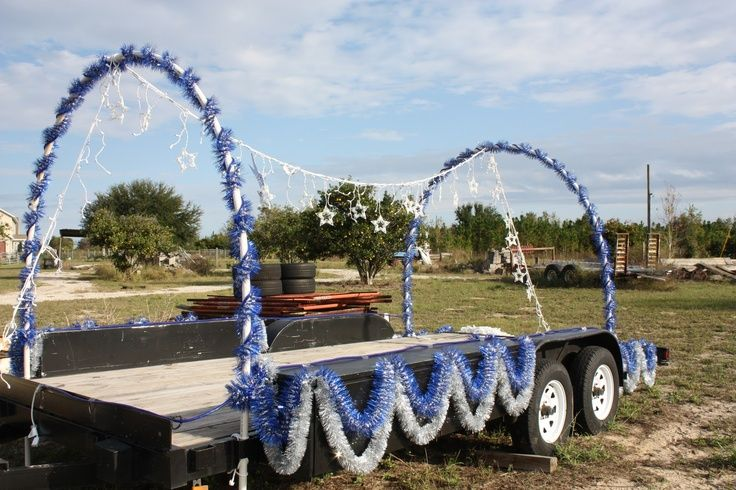 Easy Parade Float Ideas Holiday More Photos Will Swim Team Slogans Christmas Floats