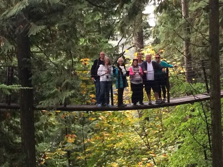 Suspension bridge, Grouse Mountain