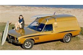 1973 Holden HQ Sandman Panel Van. A limited addition model van that was manufactured in Australia by GMH. v@e.