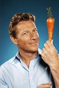 Magnus Scheving & carrot.