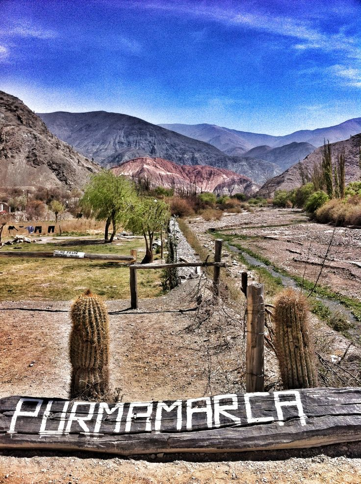 We're finally here, how gorgeous! Photo:  Marlies Hofstede Photography :-) Purmamarca es un pueblo de la Quebrada de Humahuaca- Pcia de Jujuy - Noroeste Argentino