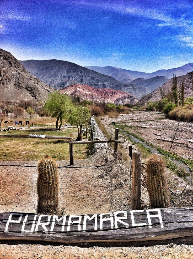 We're finally here, how gorgeous! Photo:  Marlies Hofstede Photography :-) Purmamarca es un pueblo de la Quebrada de Humahuaca- Pcia de Jujuy - Noroeste Argentino