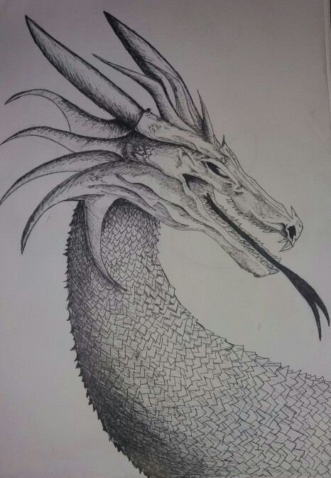 Haha two kids movies later and I have a dragon!!! A few hours editing then bam dragon head lol #dragon #drawing