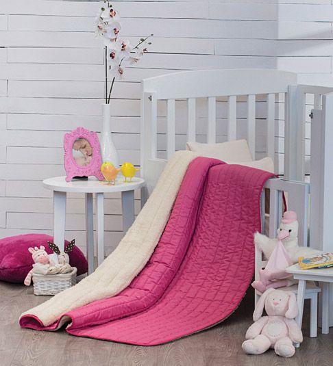 Cobertor Baby Basic Rosa