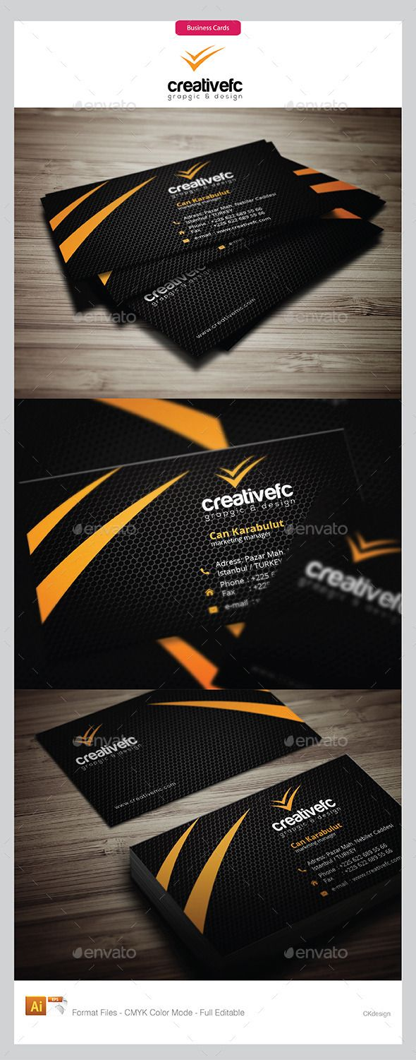 820 best BUSINESS CARDS & CORPORATE BRANDING images on Pinterest ...