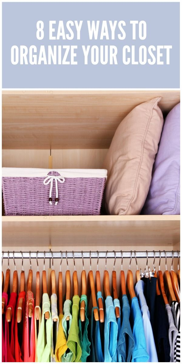 59 best images about diy master bedroom redo on pinterest for Best way to organize your closet