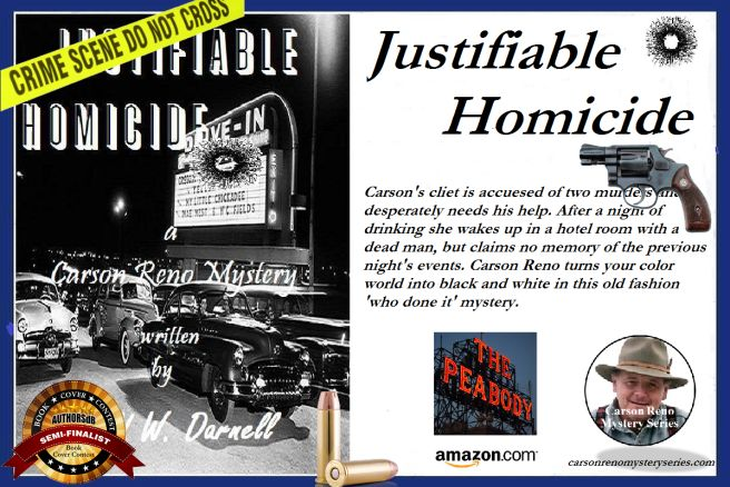 .99 cent deal for 'Justifiable Homicide'