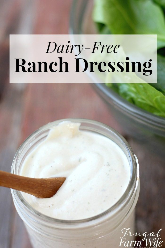 This diary-free ranch dressing is so healthy, it's Whole30 approved!