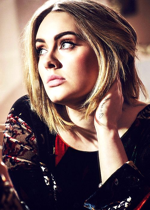 "Here are the Adele Songs You Love Most adeles: "" ""Adele photographed by Simon Emmett (2016) "" """