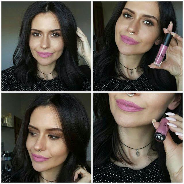 HeadInTheClouds: Golden Rose Liquid Matte Lipstick 03