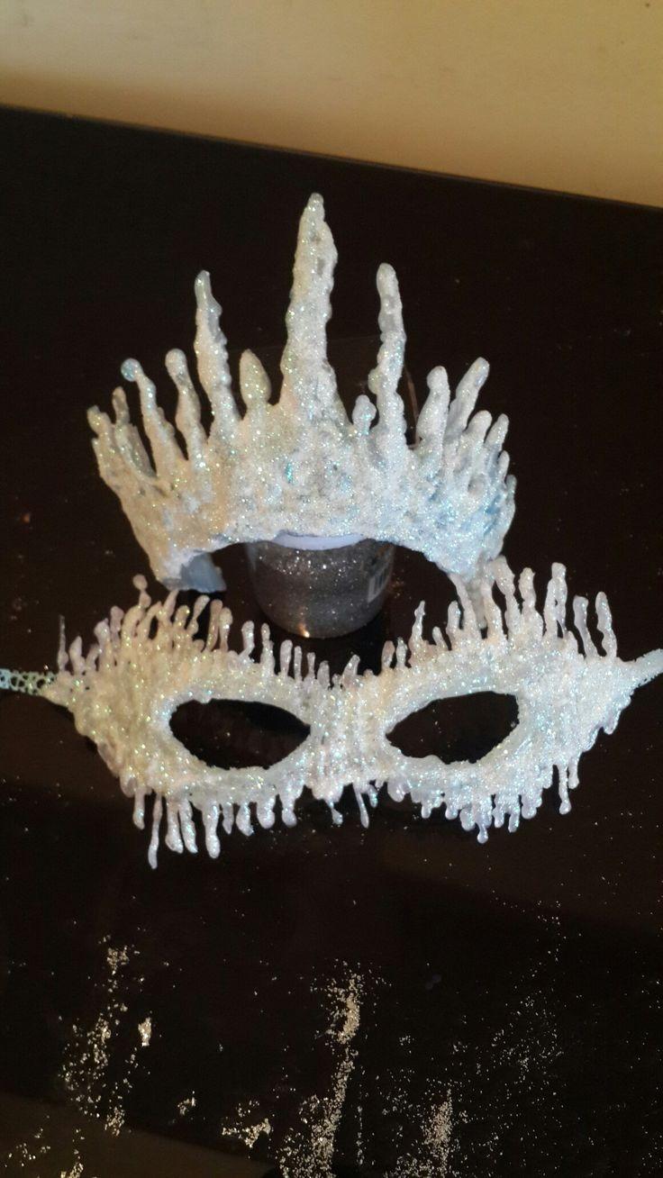 ice queen costume  disfraz reina de hielo