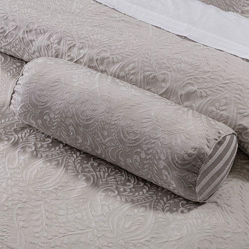 Windsor Jacquard Neck Roll Cushion