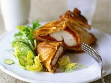 Kip in een jasje van filodeeg recept - Kip - Eten Gerechten - Recepten Vandaag