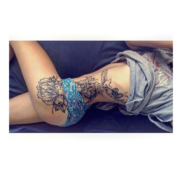 Upper Thigh Roses And Quote Tattoo: Best 25+ Dandelion Bird Tattoos Ideas On Pinterest