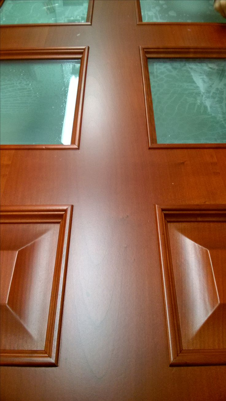 Cherry veneered and special glazed OPERA door. Our craftsmens favourite.