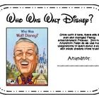 """Complete novel study for the book """"Who Was Walt Disney?"""" Includes vocabulary words, comprehension focus, and grammar focus for each chapter. Re..."""