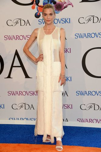 Jaime King wore white.                   Source: Getty / Jamie McCarthy