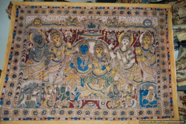 My latest blog on Kalamkari, the famous craft form of Southern part of India... http://wp.me/p2sgXu-2u