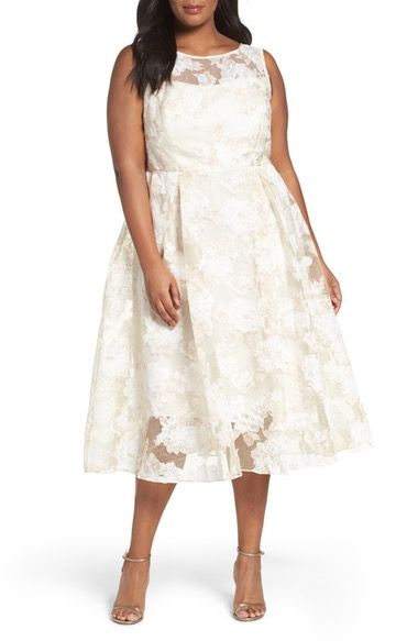 88 best dresses images on pinterest wedding frocks for Plus size midi dresses for weddings