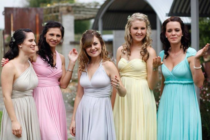 We have bridesmaid dresses to suit everyone  www.infinity-dress.co.za