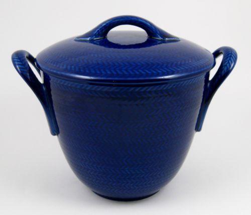 Vtg Rorstrand Swedish Blue Fire Bla ELD Mid Century Soup Tureen Hertha Bengtsson | eBay