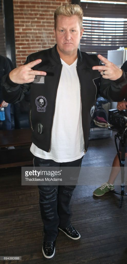 Gary LeVox of Rascal Flatts poses backstage at Tidal x Rascal Flatts pop up on June 9, 2017 in Nashville, Tennessee.