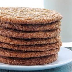 Gingersnap Crinkle Cookies | Baked by Rachel