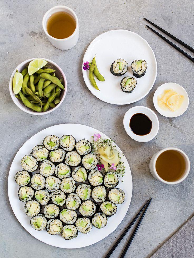 ... about Veggie Sushi on Pinterest | Sushi, Sushi Rolls and Vegan Sushi