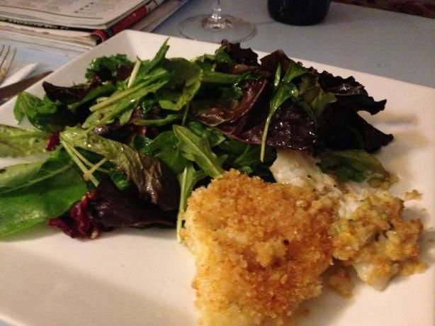 Super Easy! Oven-Baked Cod  Made this tonight wasn't too bad. But I don't like fish.