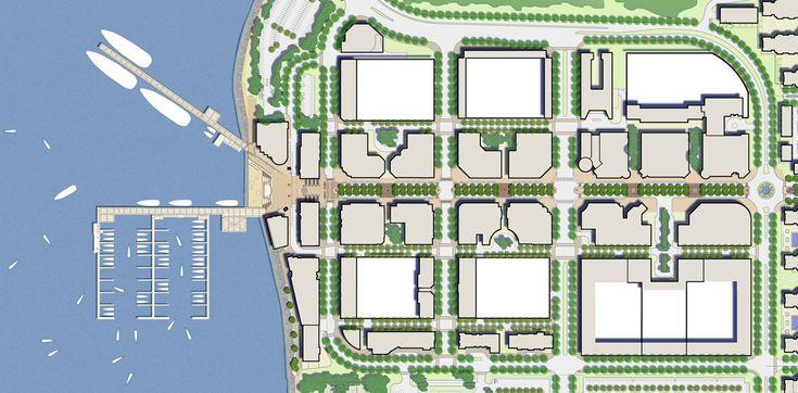 National Harbour Plan - Sasaki Architects