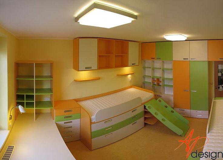 AP design - bytový architekt, design interiérů - Realizace dětského pokoje v novostavbě na Praze 11