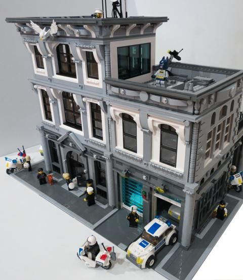 lego police station moc | Moc] Police Headquarters