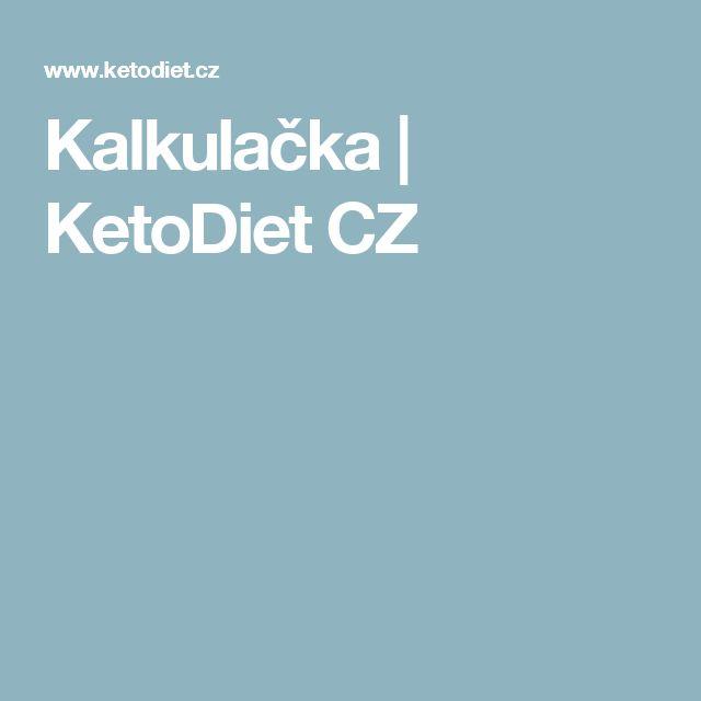 Kalkulačka   KetoDiet CZ
