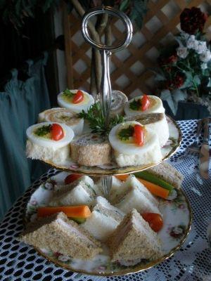 Tea room sandwiches