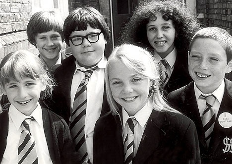 Grange Hill. I was in love with Jonah...sigh
