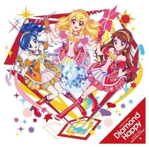 Aikatsu! OP2 & ED2 Single - Diamond Happy / Hirari-Hitori-Kirari   ▼ Download: http://singlesanime.blogspot.com/2013/07/aikatsu-op2-ed2-single-diamond-happy.html
