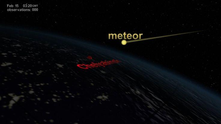 NASA | NPP Sees Aftermath of the Chelyabinsk Meteor