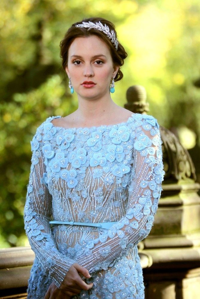 Nice Blair Waldorf Wedding Dress Elie Saab Ideas - Wedding Dress ...