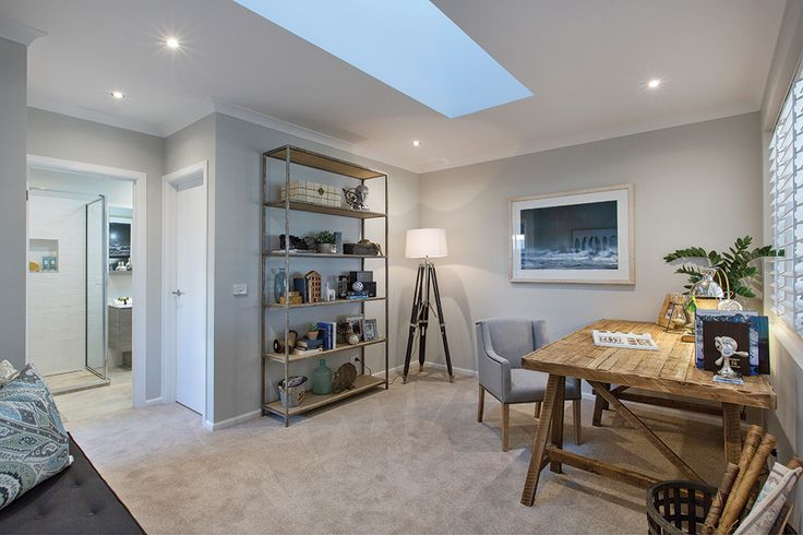Activity room in the Vancouver display home with a Classic Hamptons World of Style.
