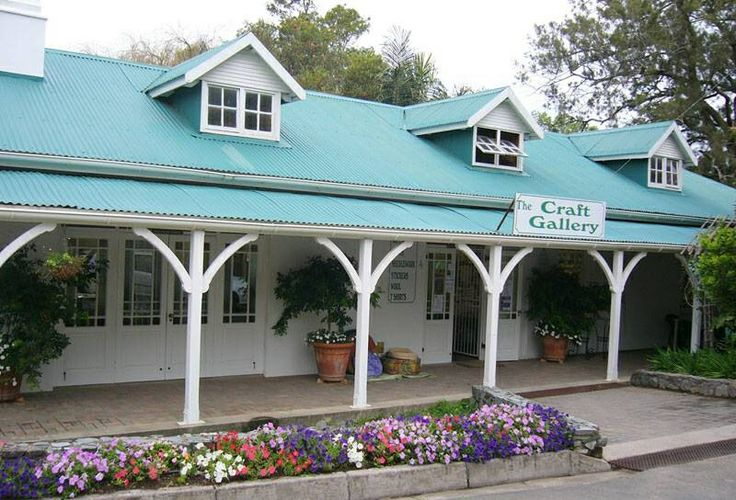 The popular Craft Pavilion at the Floradale Centre in East London South Africa.