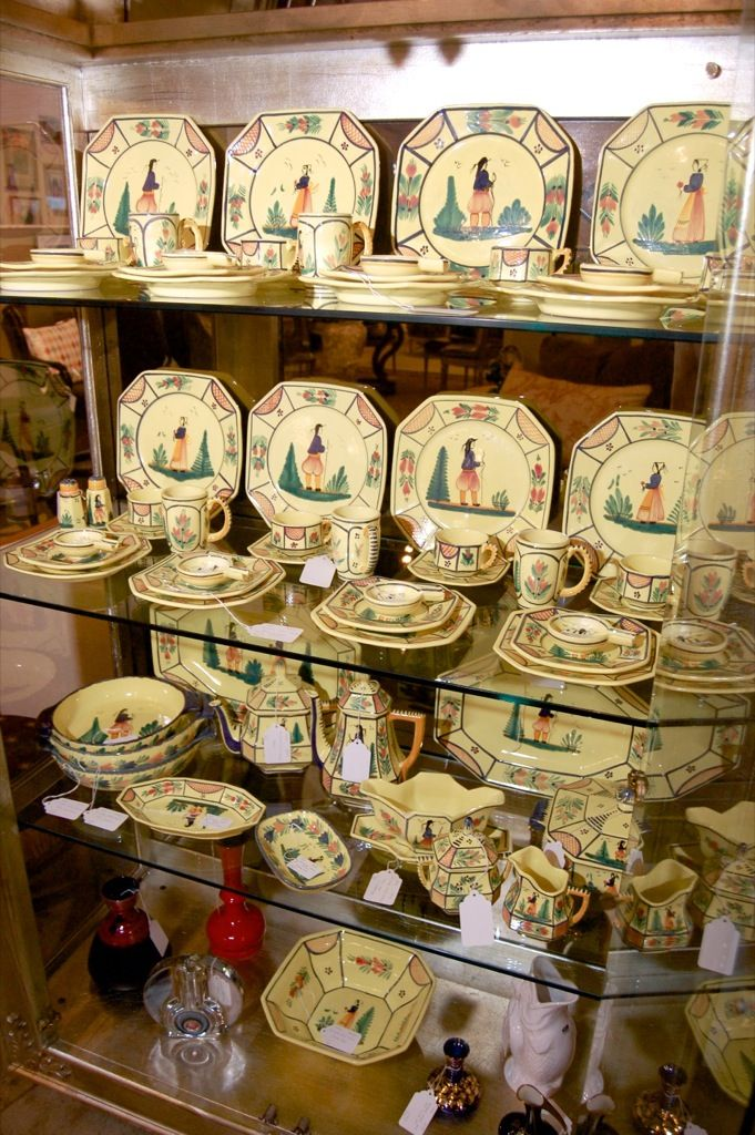 55 best Quimper Pottery images on Pinterest | Quimper pottery, City ...